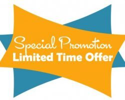 Grand Open Special Promotion